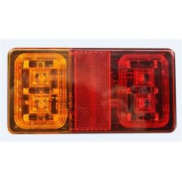 LED Achterlicht rechthoekig