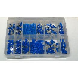 Kabelschoentjesassortiment blauw