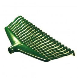 Kunststof bladhark groen, los